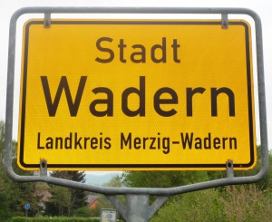 Ortsschild_Wadern